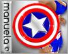 |M| American Flag Shield
