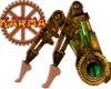 Steampunk machine bottom