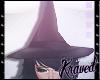 ✘Pastel Goth Witch Hat
