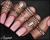 $ Mom Nails Pink