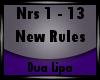 [xlS] New Rules