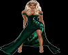 shamrock green gown