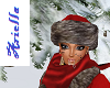 [ARIE] plush red schapka