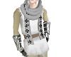 White Tattered Tunic