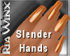 Wx: Slender Pumpkin Nail