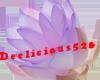 Blue Translucent Lotus
