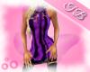 TB-Purple Stripy Dress