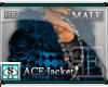 [BE]  ACE Jacket Blue M