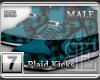 [BE] Blue Plaid|Kicks M