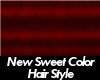 Army Brat Hair Sweet Red