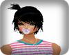 *ZB* BABY HAIR BLACK