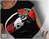 м  Skull Rose . Shirt