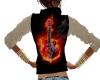 Fire Guitar Vest/Shirt