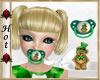 ~H~St. Patty Bear Pacifr