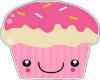*114Smile Cupcake