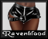 ~RB~ PVC Shorts w Belt