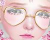 d. heart glasses w