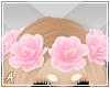 A  Pink Flower Crown
