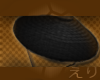 Black Rice Hat