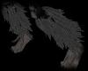 [FC] Gray Leg Fur L