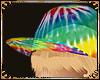 Tie dye/hat+hair