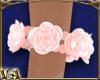 Right Pink Rose Bracelet