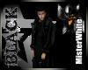 MRW|Black Hoody Trench