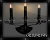 -N- Black Wall Candles