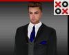 Santino Full Suit Blue