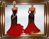 AD! Red Black Feathers