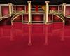 red/gold royal ballroom