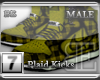 [BE] YellowPlaid|Kicks M