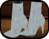 (ML) Short White Boots