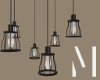 Industrial Hanging Lamps