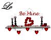 Be Mine  Shelf  Red