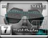 [BE] Blue Plaid|Shades M
