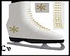 White Skates Snowflake