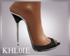 K aly black heels