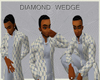 (CB) DIAMOND WEDGE COAT