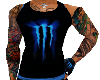 BLUE MONSTER TANK