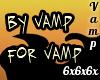 VAMP Back Tattoo