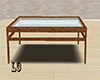 [LO] Wood Glass Table
