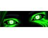 Neon Green Eyes