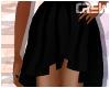 !TC! Black Hi Low Skirt