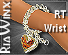 Hearts Peach Bracelet