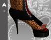 ^Ash Panther Print Heels