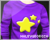{HG} Purple Star Sweater