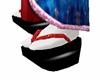 Red Sequin Okobo EW2