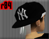 [r84] BwBlk Yankee Cap 2