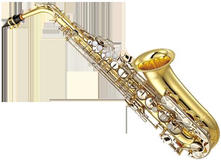 Yamaha YAS-23 - альт-саксофон ученический с кейсом, лак золото.